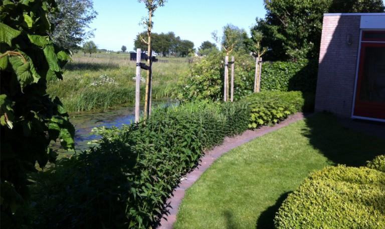 Tuin bij Kinderdijk (Alblasserdam).